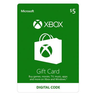 Xbox Gift Card $5