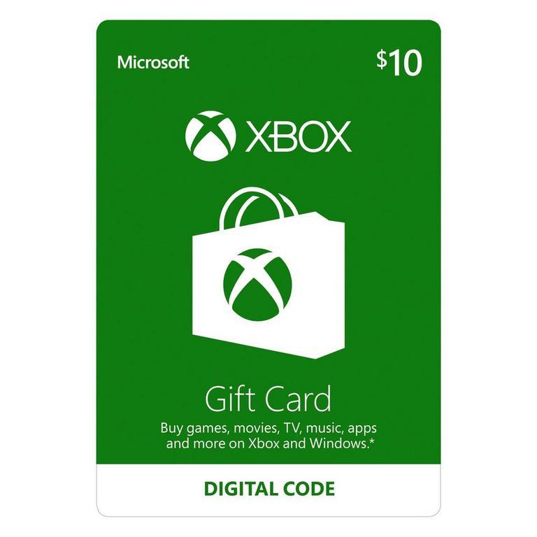 Xbox Gift Card $10