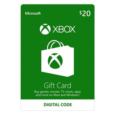 Xbox Gift Card $20