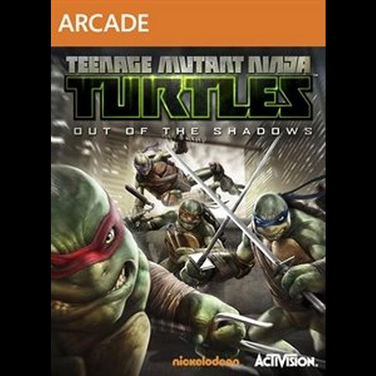 Tmnt Out Of The Shadows Xbox 360 Gamestop