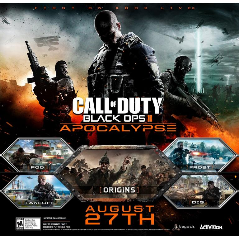 Call of Duty: Black Ops II Apocalypse Map Pack