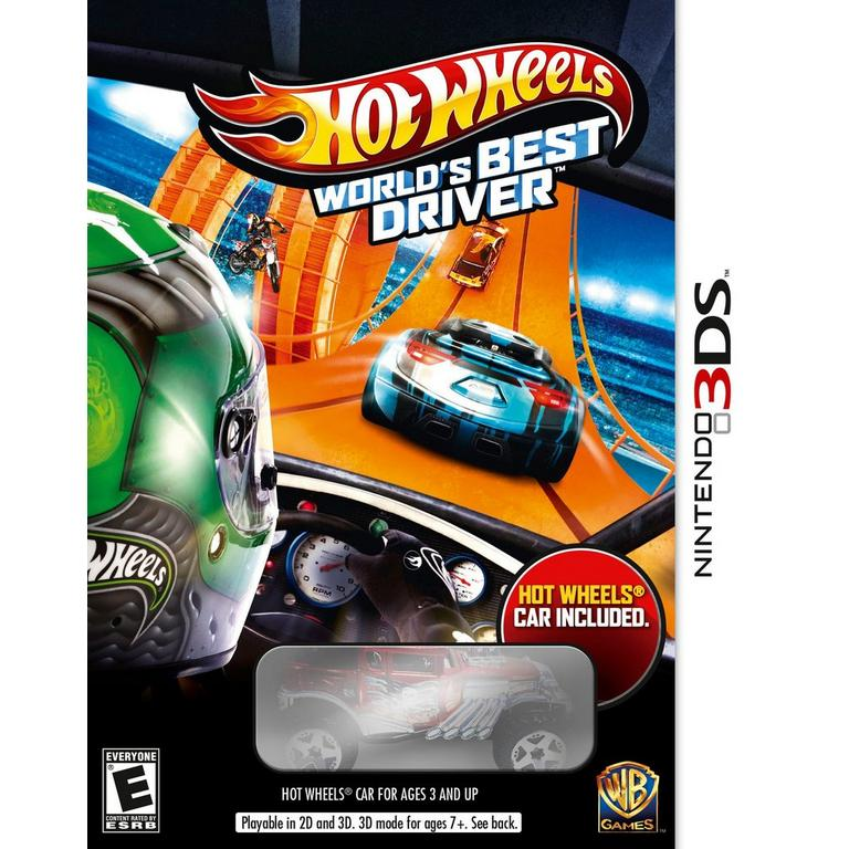 Hot Wheels Worlds Best Driver Bundle
