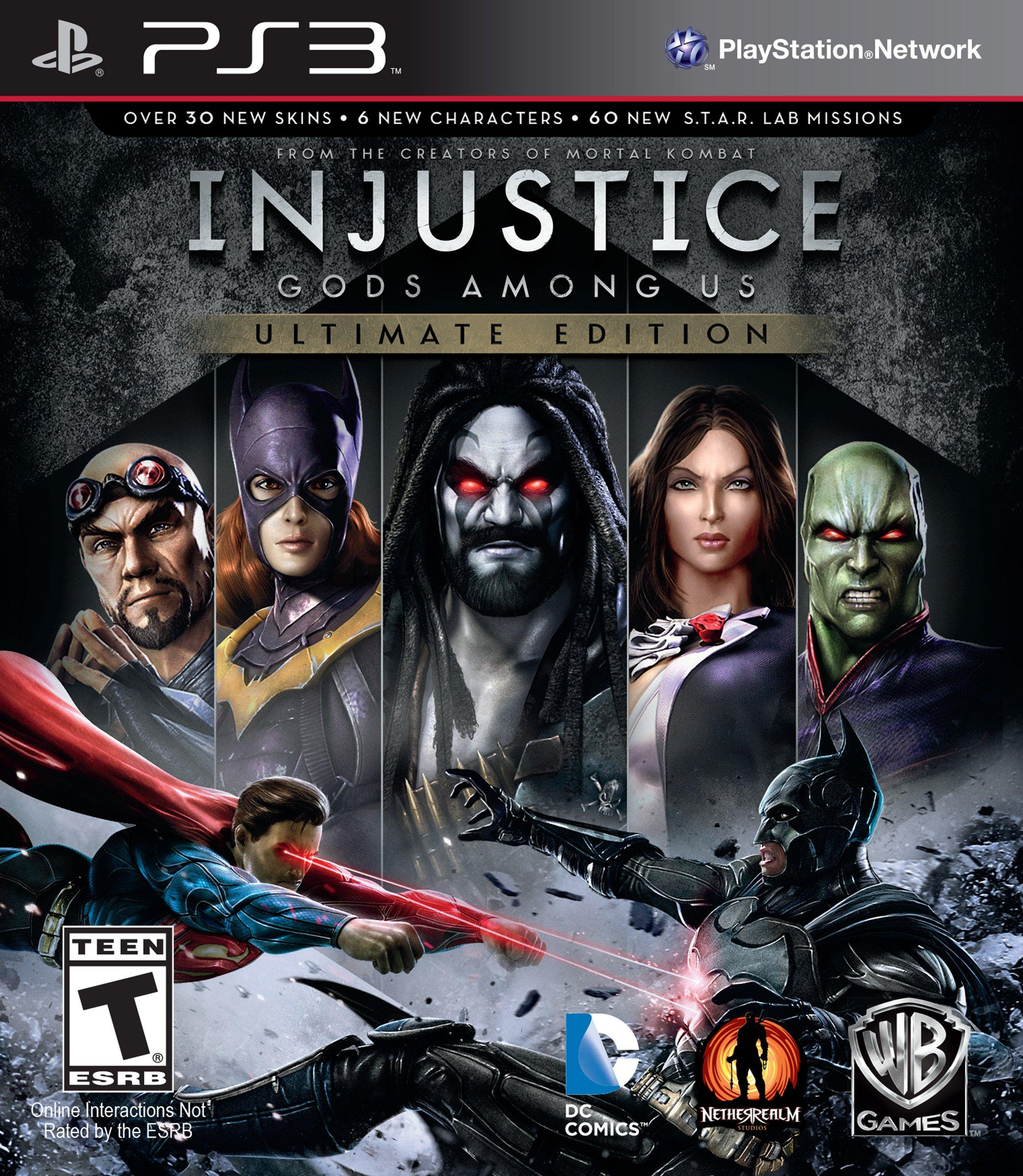Injustice: Gods Among Us Ultimate Edition | PlayStation 3 | GameStop