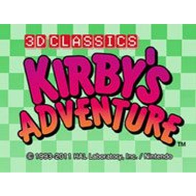 3D Classics: Kirby's Adventure