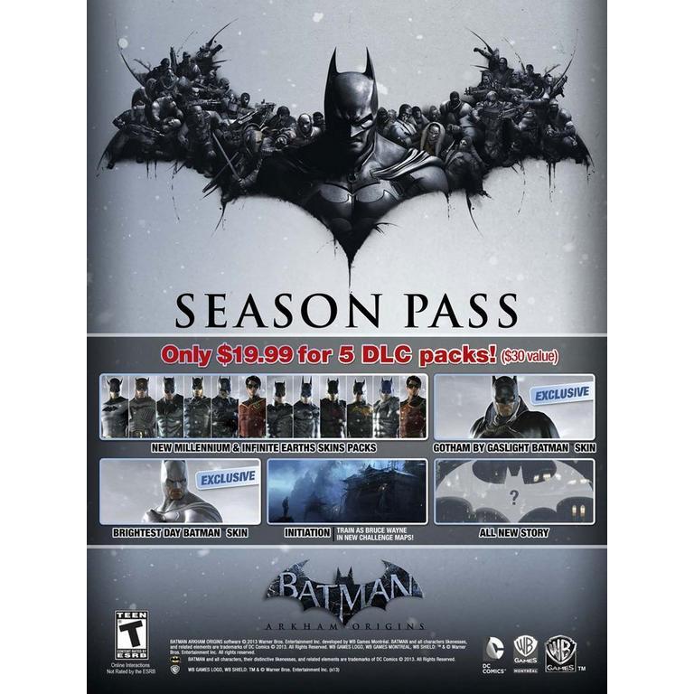 Batman: Arkham Origins Season Pass