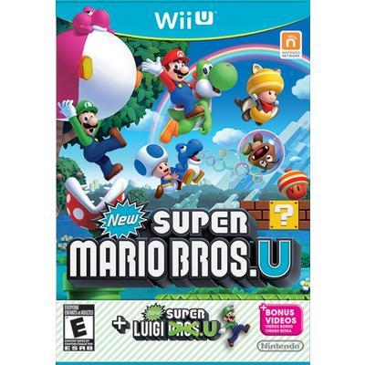 New Super Mario Bros U with Super Luigi U | Nintendo Wii U | GameStop
