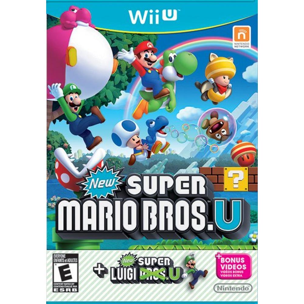 New Super Mario Bros U With Super Luigi U Nintendo Wii U Gamestop