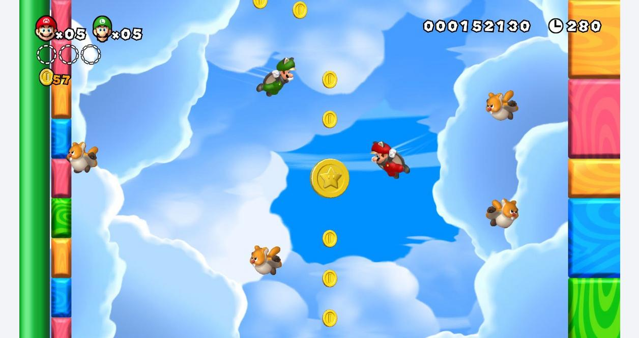 New Super Mario Bros U with Super Luigi U