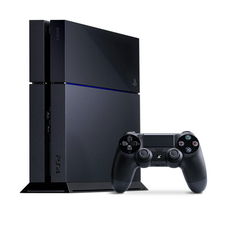 Playstation 4 500GB System Black - (GameStop Premium Refurbished)