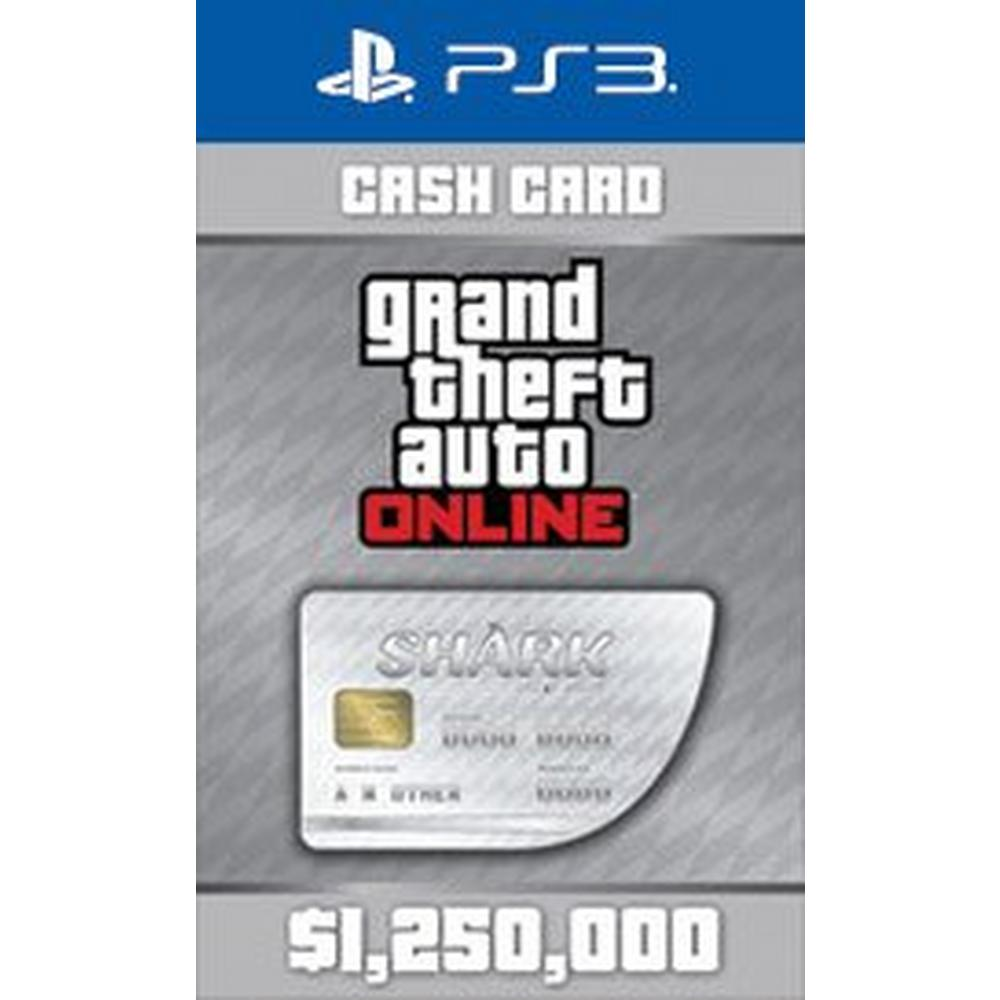 Grand Theft Auto Online: The Great White Shark Cash Card | PlayStation 3 |  GameStop