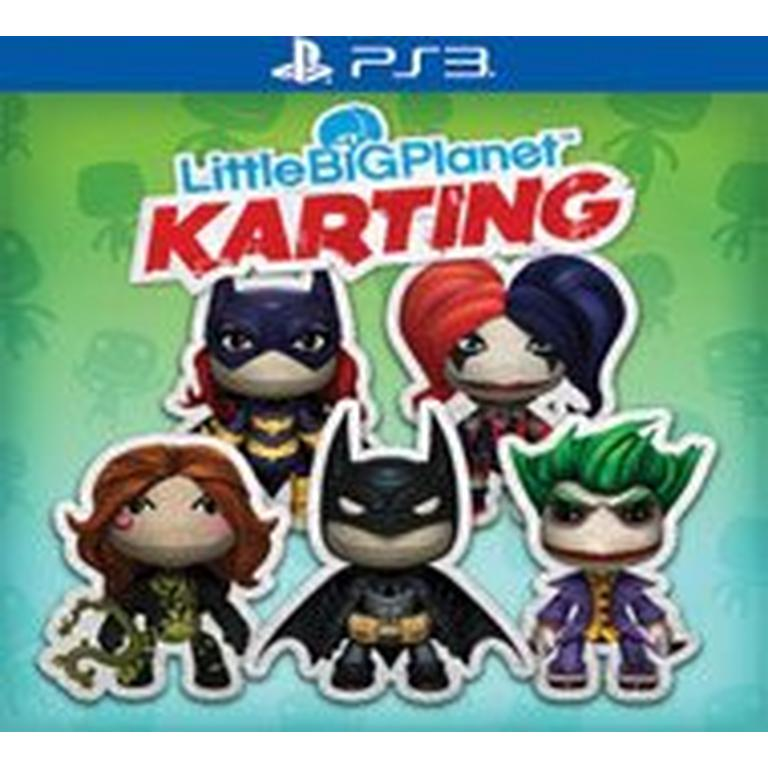 PS3 LBP Karting DC Comics Pk 2 DLC