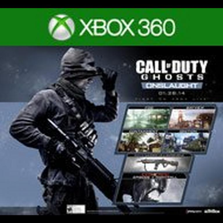 Call Of Duty Ghosts Onslaught Map Pack Xbox 360 Gamestop