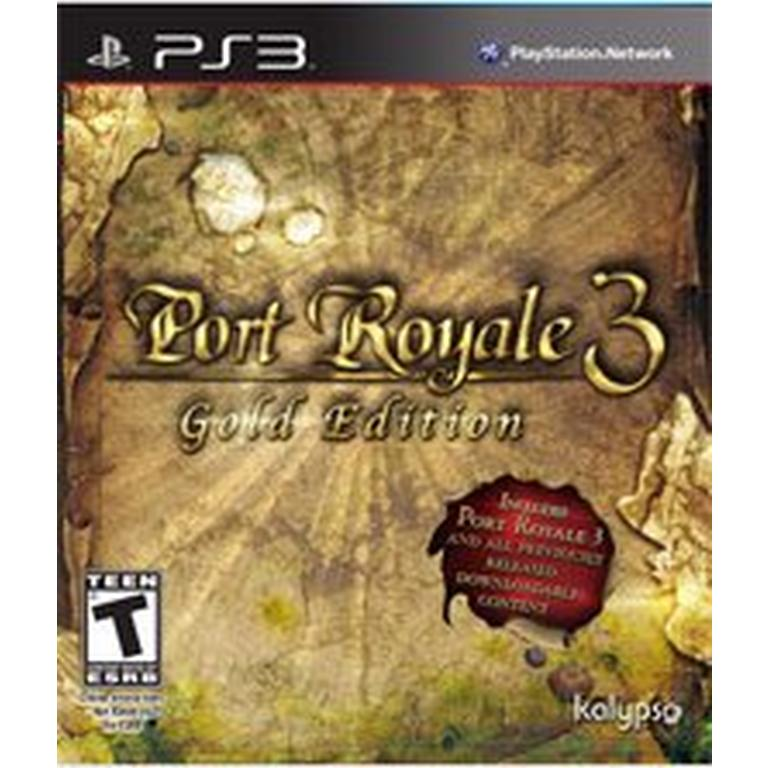 Port Royale 3 Gold Edition Playstation 3 Gamestop