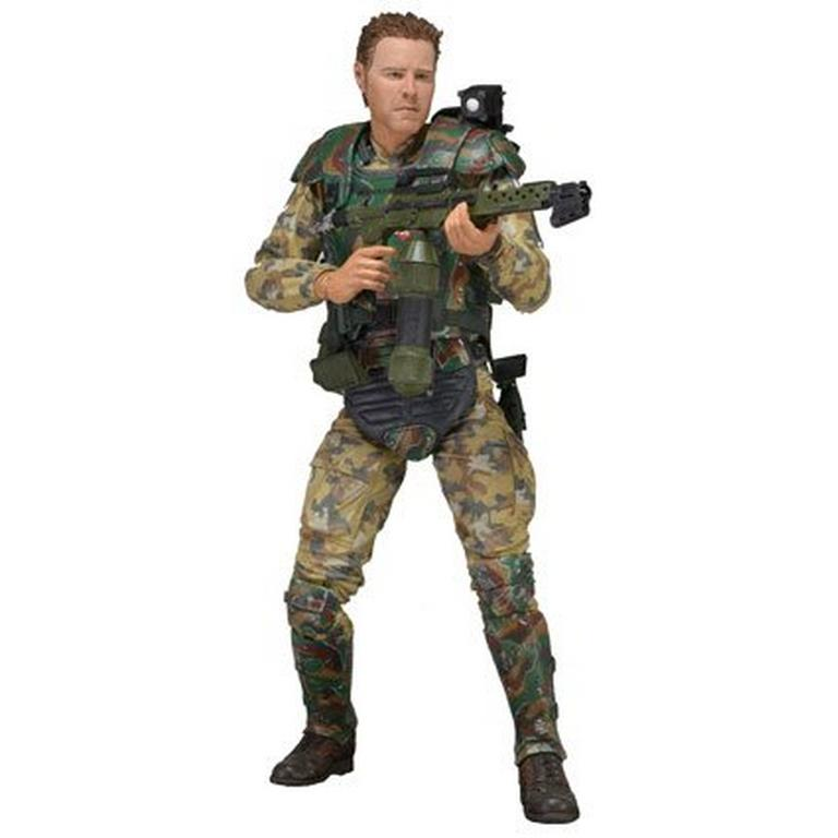 Aliens 7 inch Action Figure - Series 2 Sgt. Windrix