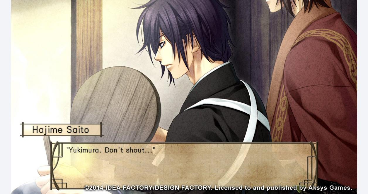 Hakuoki Stories of the Shinsengumi