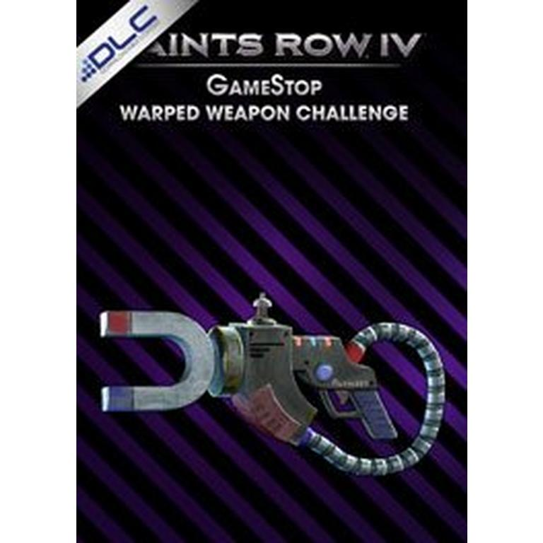 Saints Row IV GameStop Warped Weapon Challenge