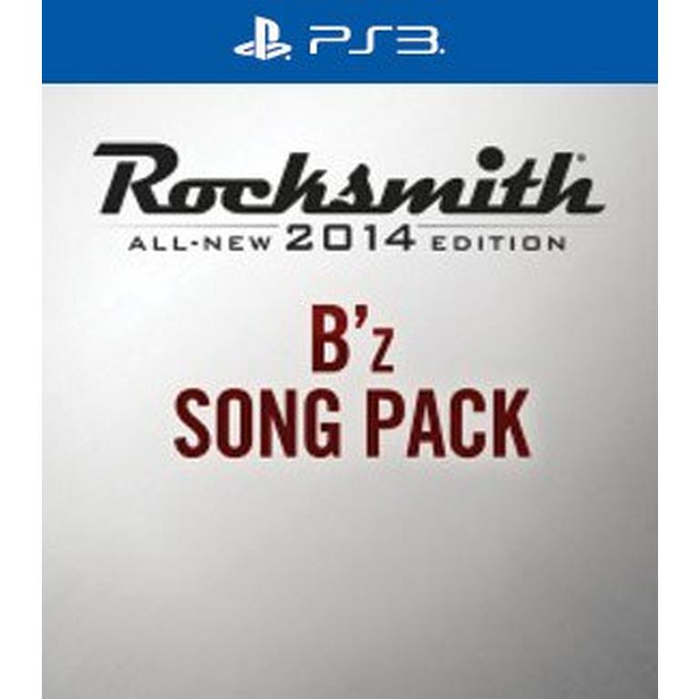 Rocksmith 2014 B'z Song Pack