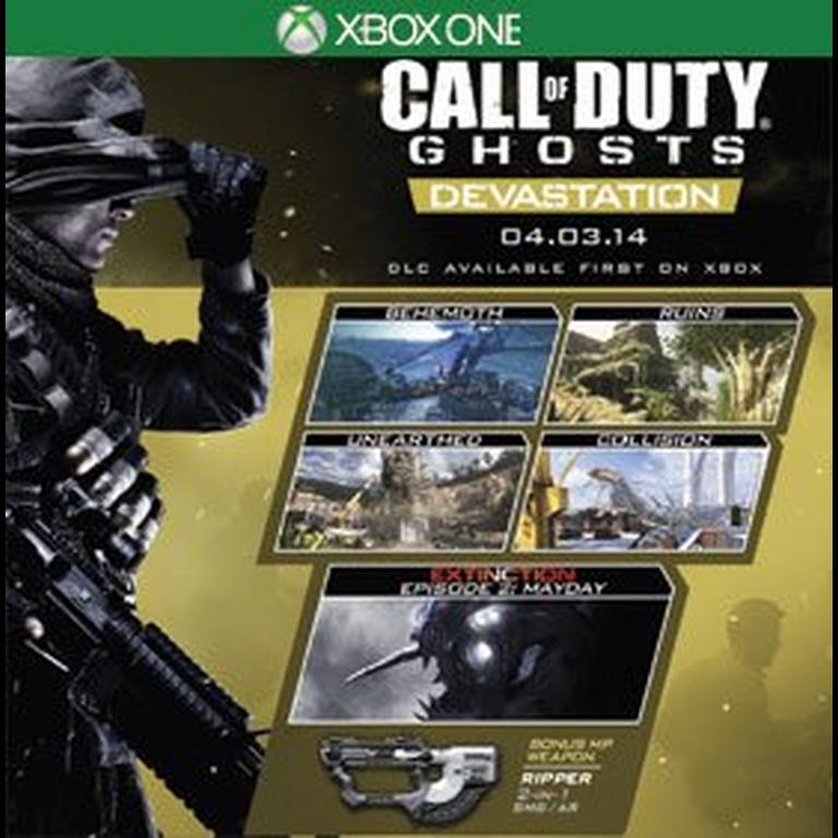 Call Of Duty Ghosts Devastation Map Pack Xbox One Gamestop