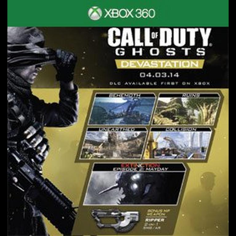 Call Of Duty Ghosts Devastation Map Pack Xbox 360 Gamestop
