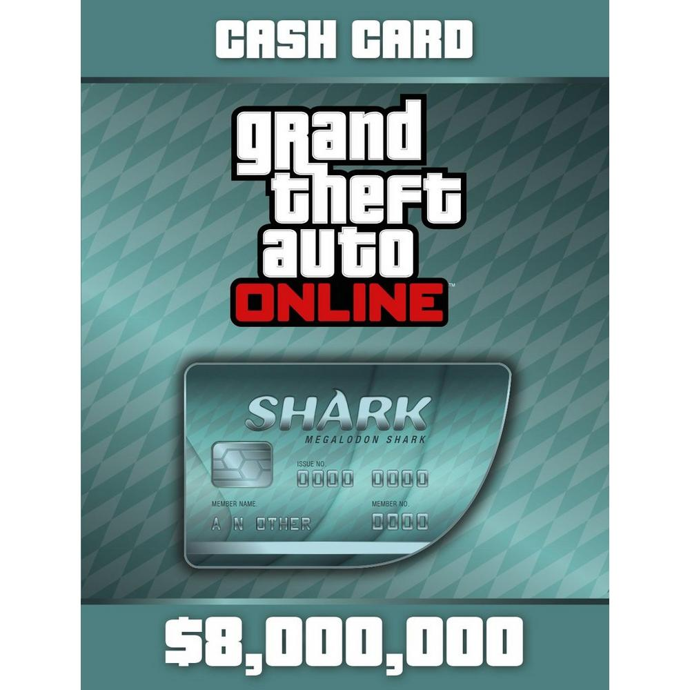 Grand Theft Auto Online: The Megalodon Shark Cash Card | PlayStation 3 |  GameStop