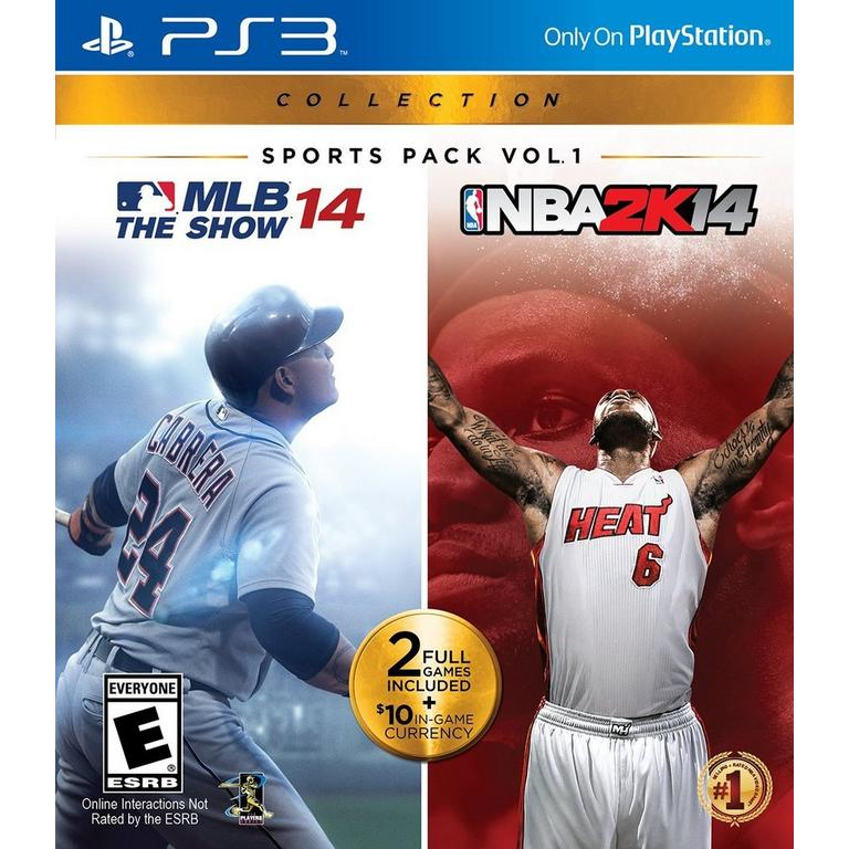 PlayStation Sports Pack Vol. 1 - MLB 14 The Show / NBA2K14
