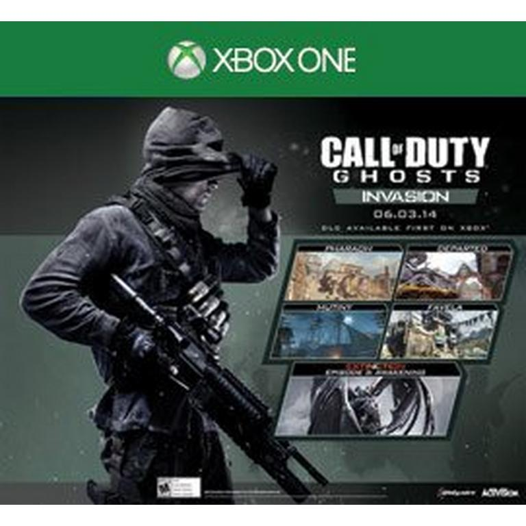 Call Of Duty Ghost Invasion Map Pack Xbox One Gamestop