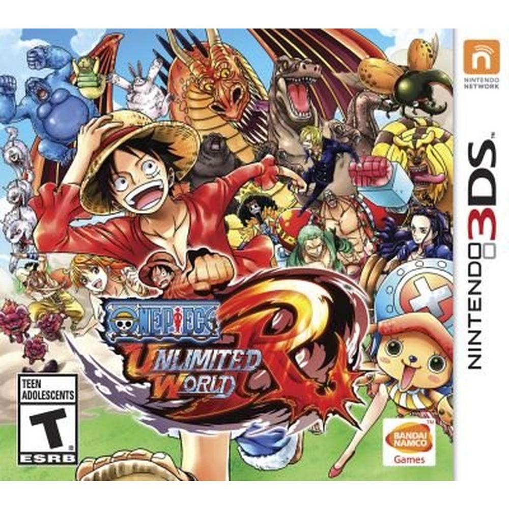 One Piece Unlimited World Red | Nintendo 3DS | GameStop
