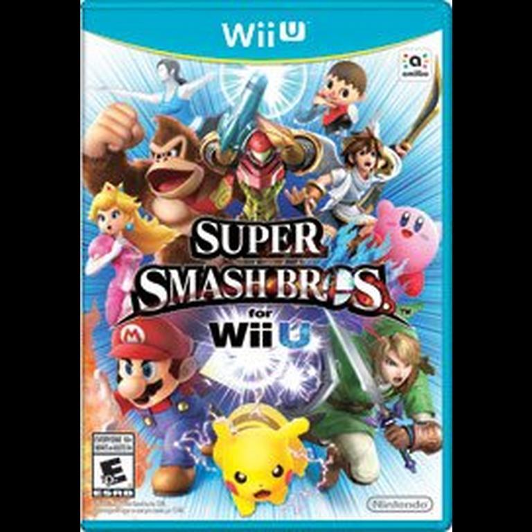 Super Smash Bros Nintendo Wii U Gamestop
