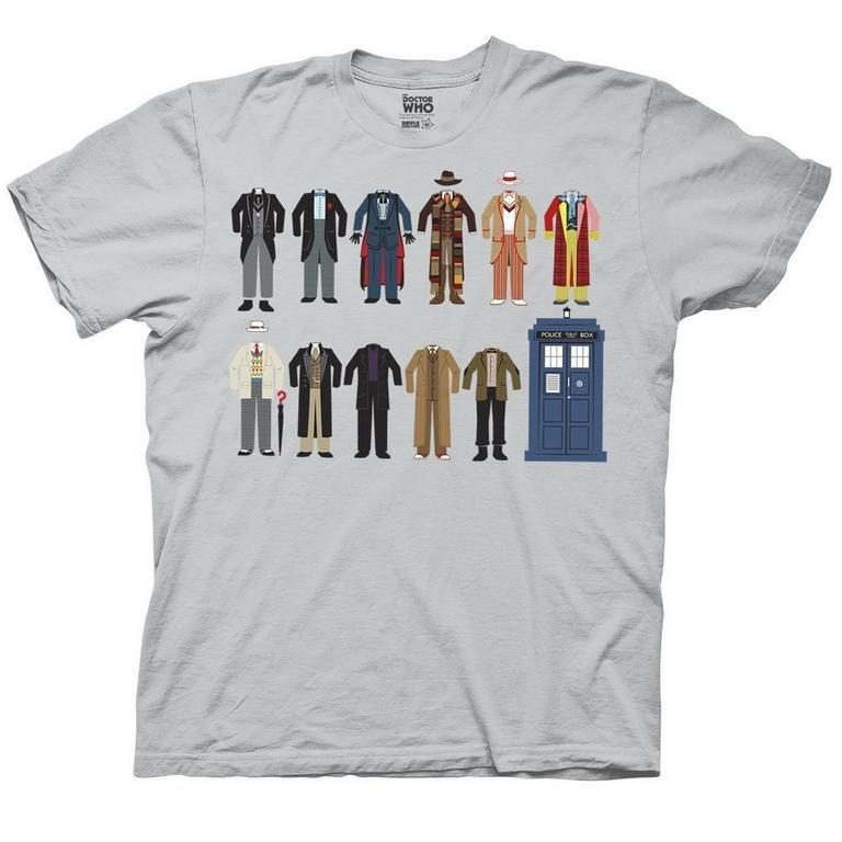 Doctor Who Doctors' Outfits T-Shirt