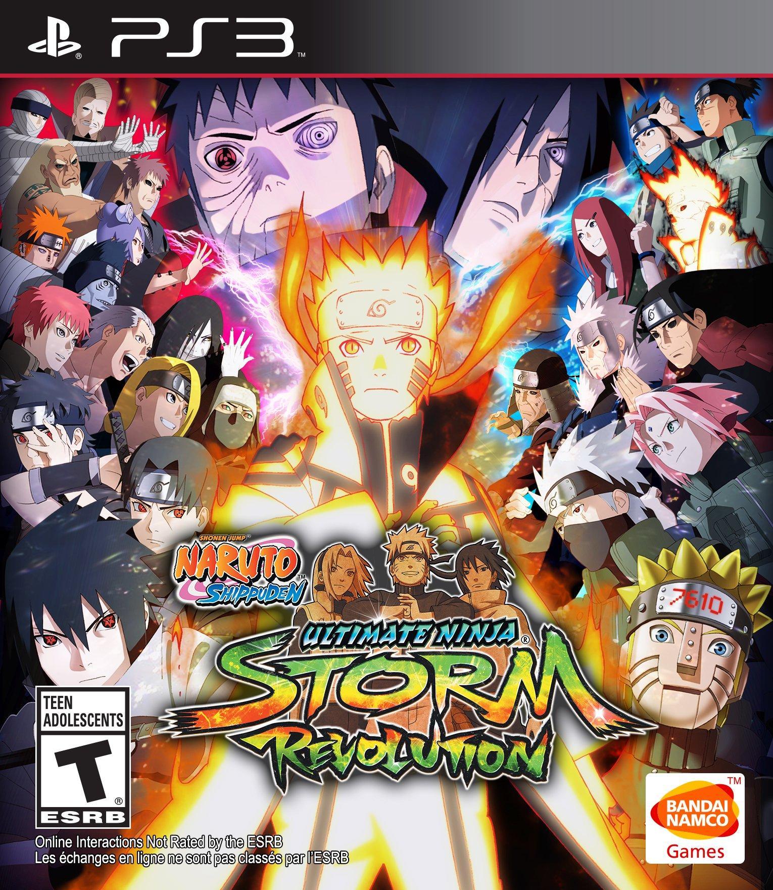 Naruto Shippuden: Ultimate Ninja Storm Revolution | PlayStation 3 | GameStop
