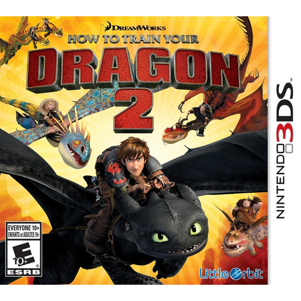 How To Train Your Dragon 2 Nintendo 3ds Gamestop