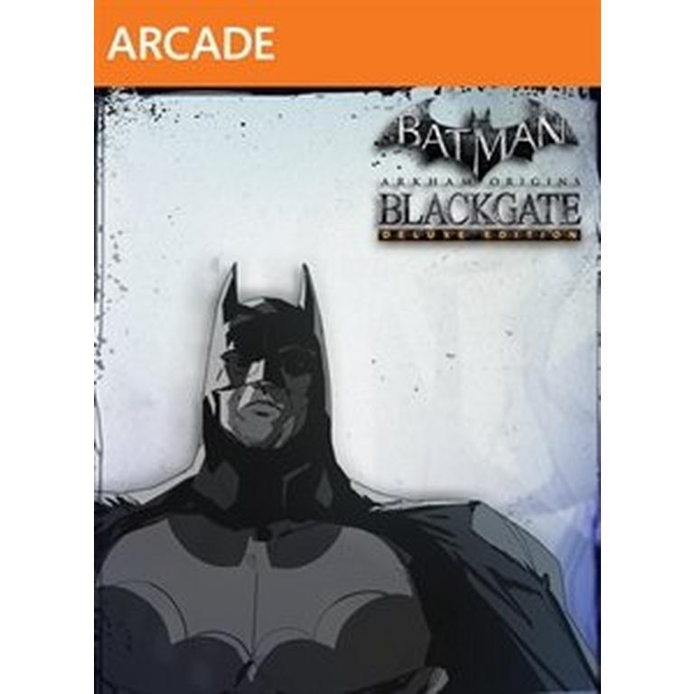 Batman: Arkham Origins Blackgate Deluxe Edition