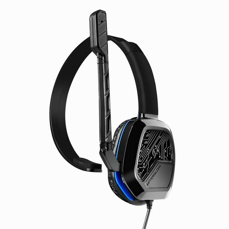 PlayStation 4 Afterglow LVL 1 Black Wired Chat Gaming Headset