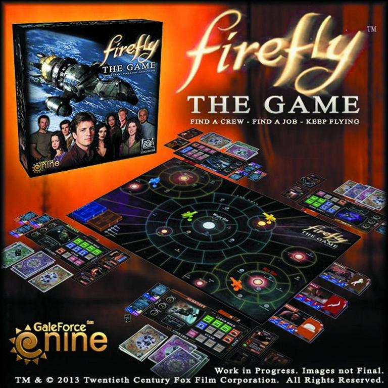 Firefly Board Game