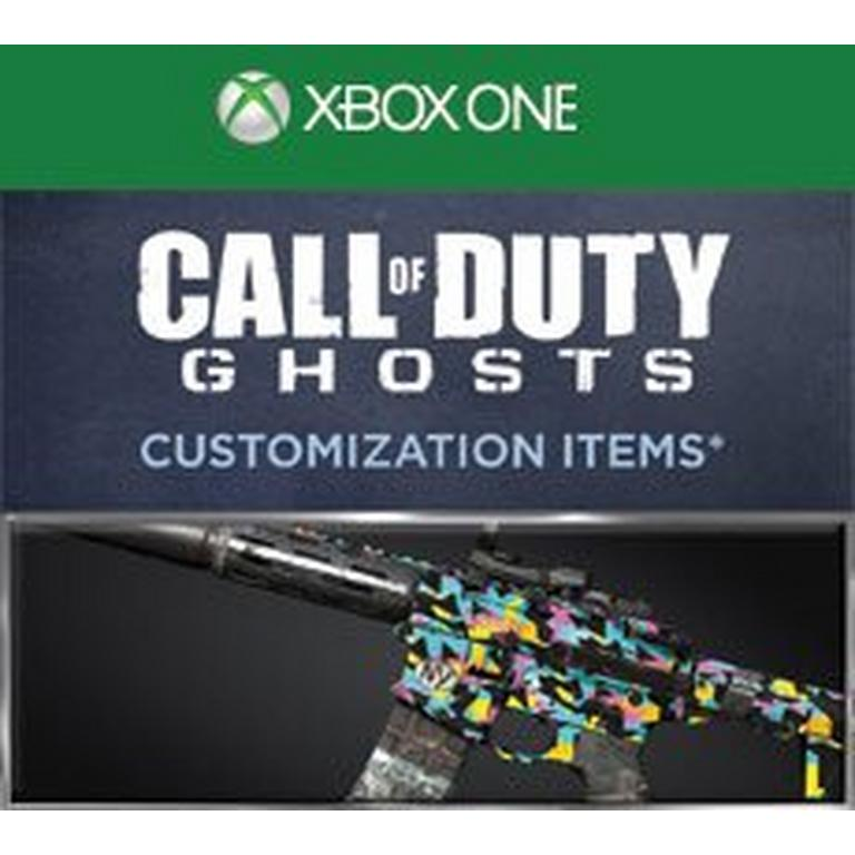 Call of Duty Ghosts 1987 Personalization Pack