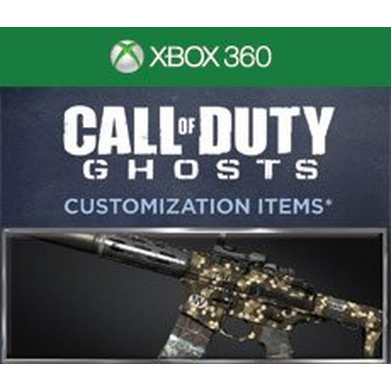 Call of Duty Ghosts Hex Personalization Pack