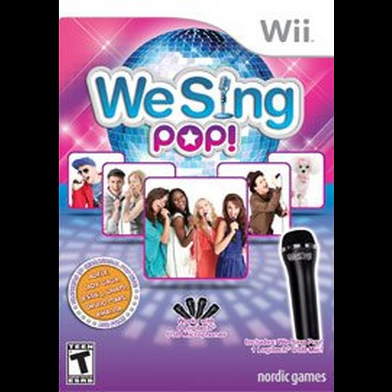 We Sing Pop! Game Only
