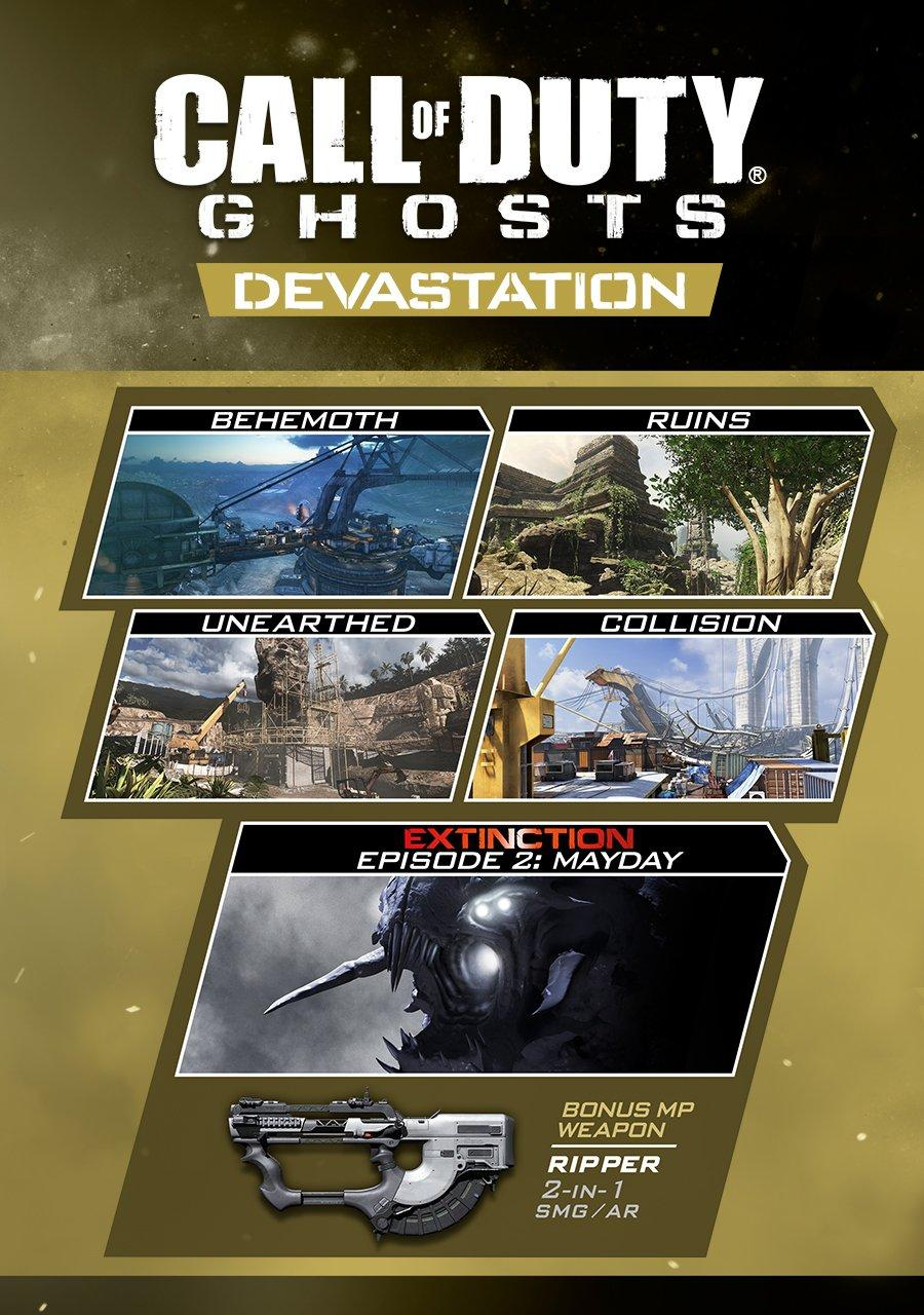 Call Of Duty Ghosts Devastation Map Pack Pc Gamestop