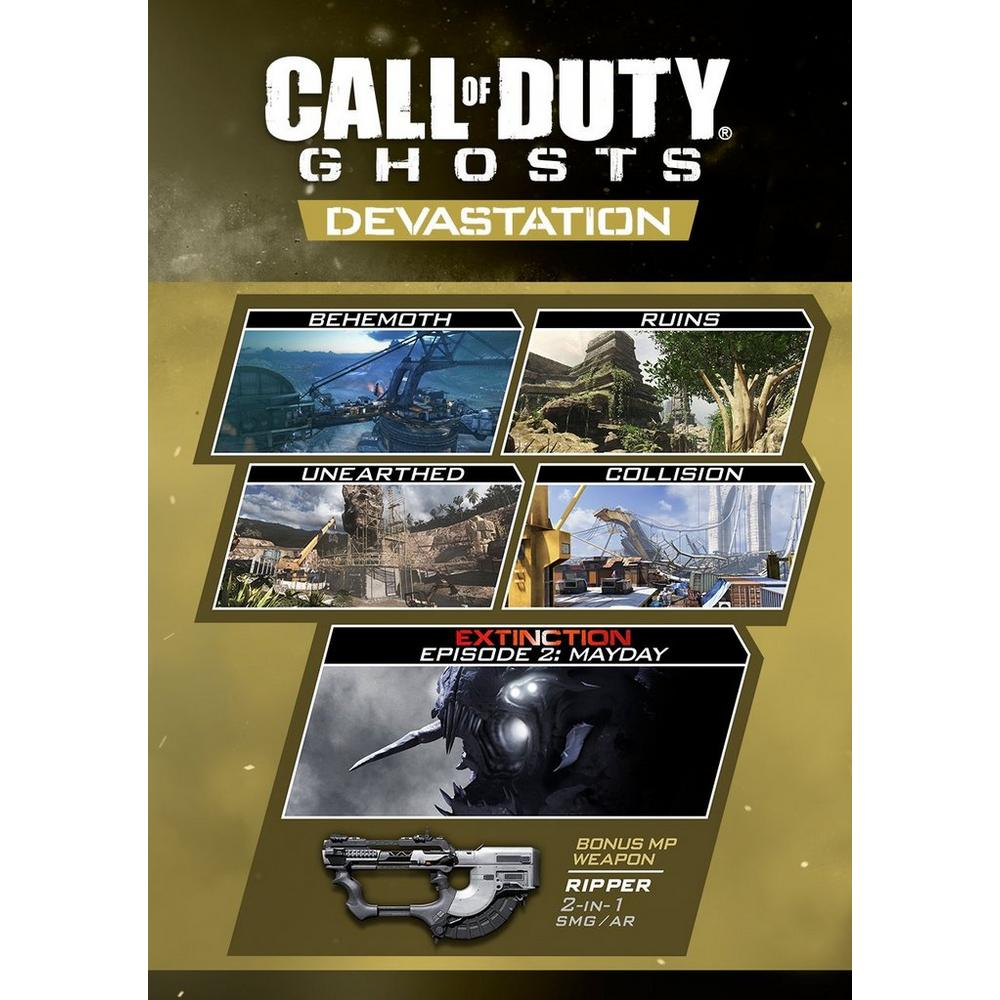 Call of Duty: Ghosts Devastation Map Pack | PC | GameStop Call Of Duty Extinction Maps on call of duty ghost all prestiges, call of duty advanced warfare menu, call of duty black ops ghost, call of duty ghosts aliens, call of duty ghosts gameplay, call of duty ghost clan patches, call of duty clan names, call of duty ghosts maps, call of duty weapons list, call of duty ghost mask, call of duty ghost wallpaper, call of duty ghosts chainsaw, call of duty ghost extintion ar cover, call of duty dlc, call of duty ghosts cartoon, call of duty alien mode, call of duty ghosts main menu,
