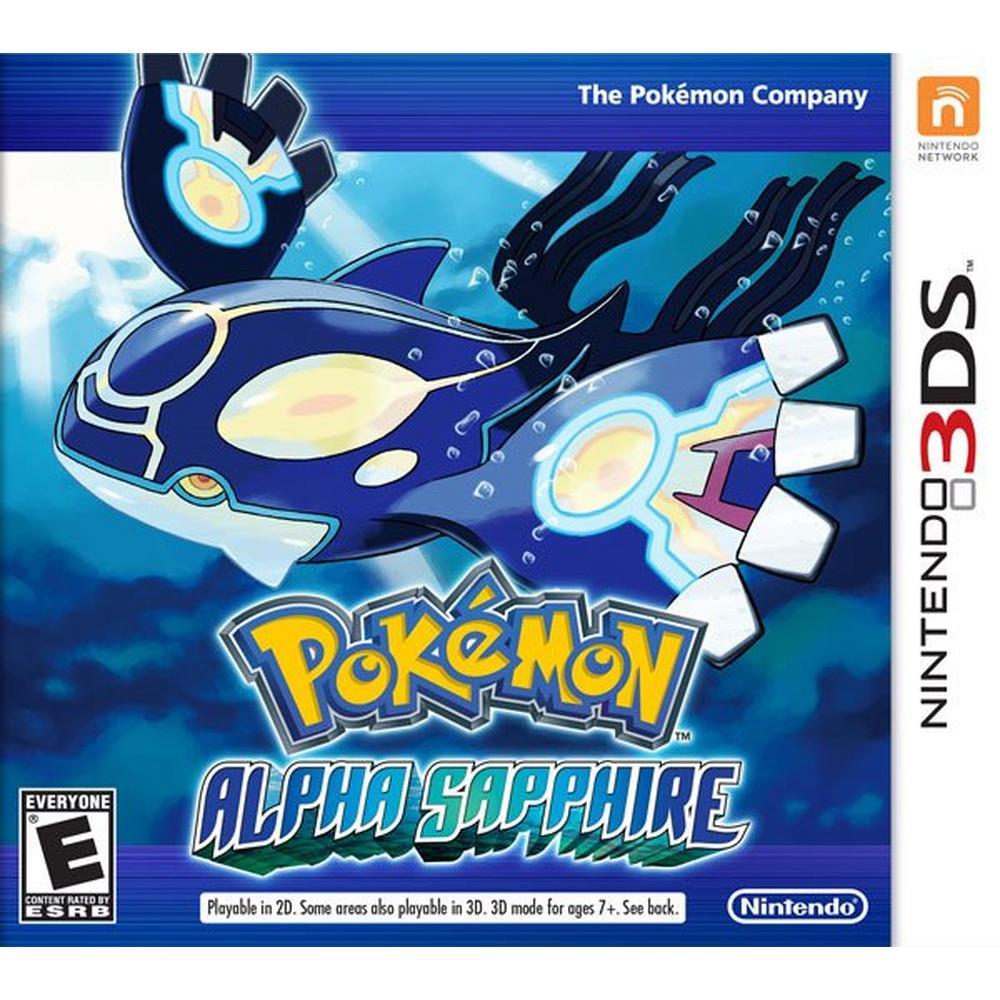 Pokemon Alpha Sapphire   Nintendo 3DS   GameStop