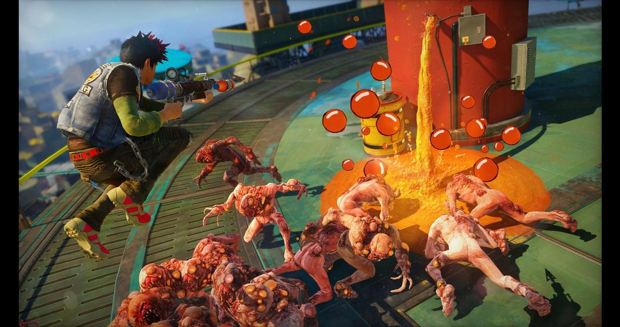 Sunset Overdrive Xbox One Gamestop