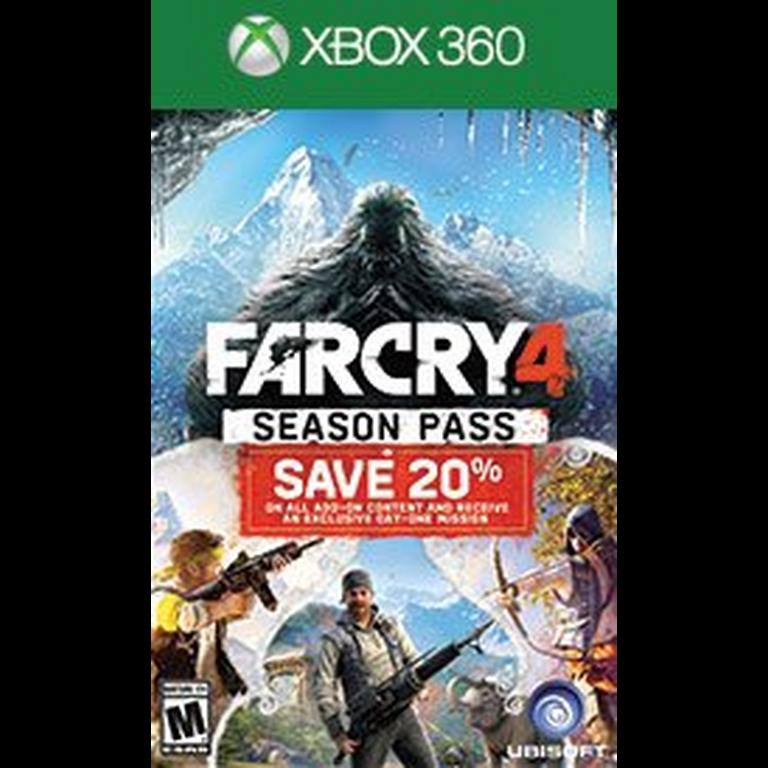 Far Cry 4 Season Pass Xbox 360 Gamestop