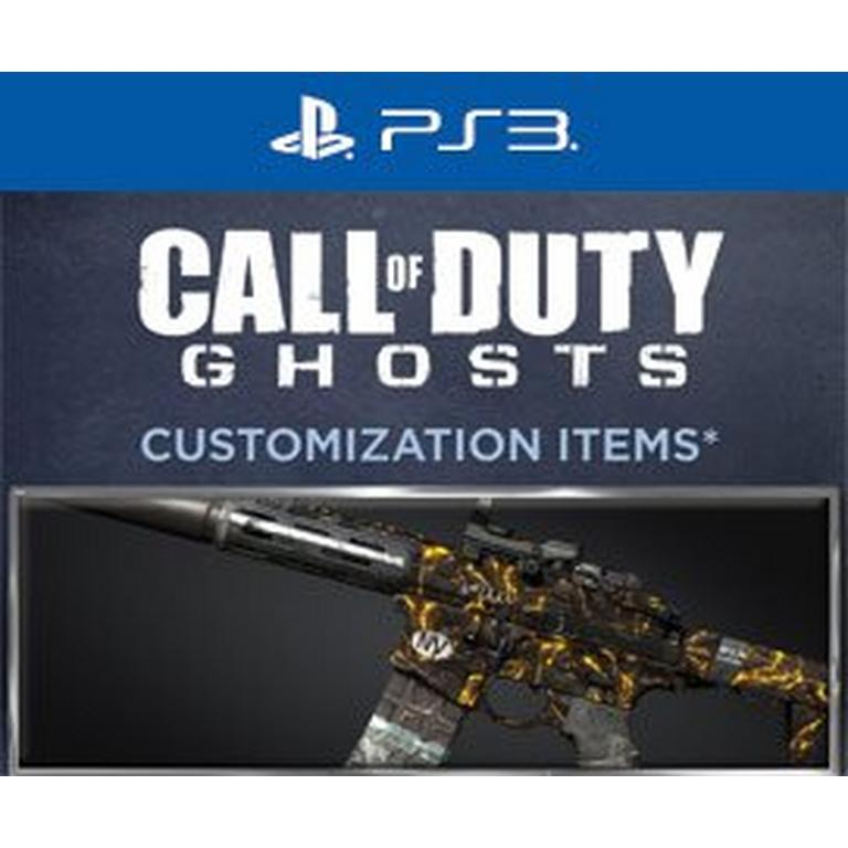 Call of Duty Ghosts Molten Personalization Pack