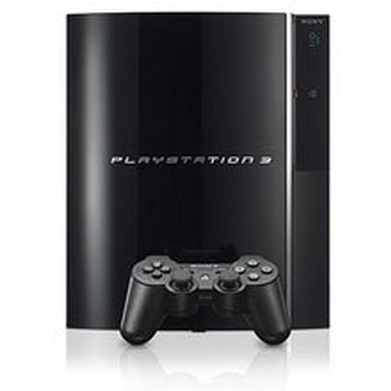 PlayStation 3 Black 80GB with 4 USB
