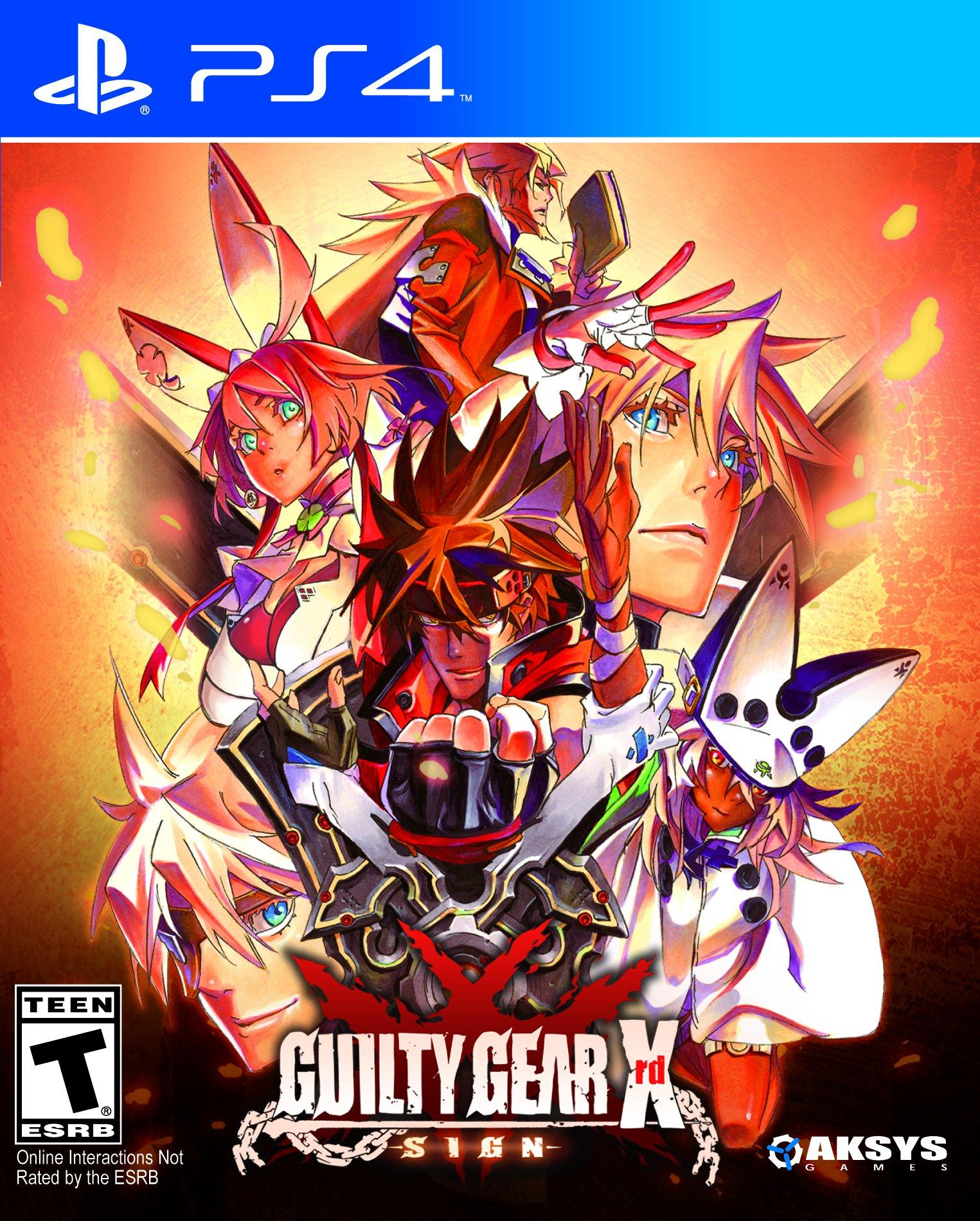 Guilty Gear Xrd Sign Playstation 4 Gamestop