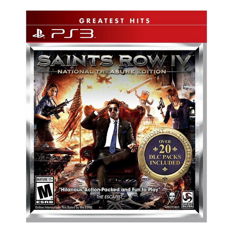 Saints Row IV National Treasure Edition