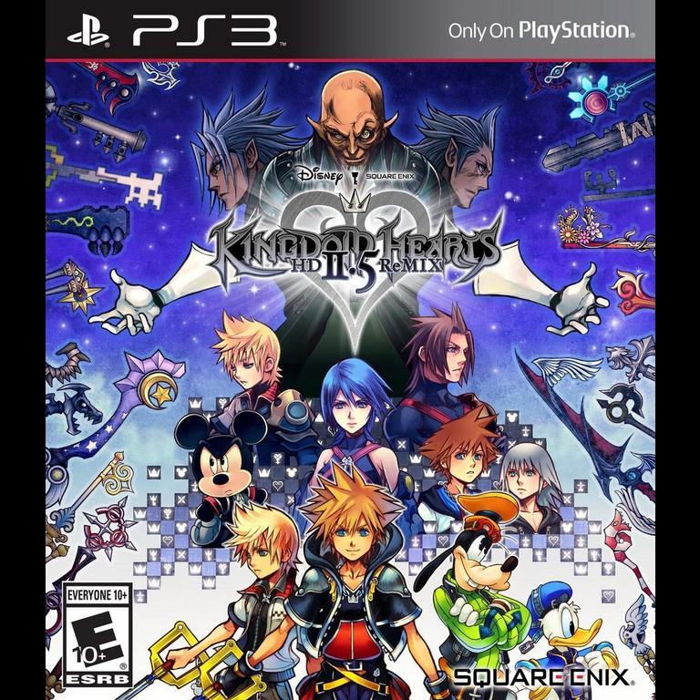 Kingdom Hearts Hd 2 5 Remix Playstation 3 Gamestop