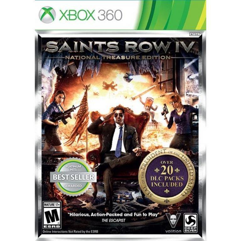 Saints Row IV National Treasure Edition
