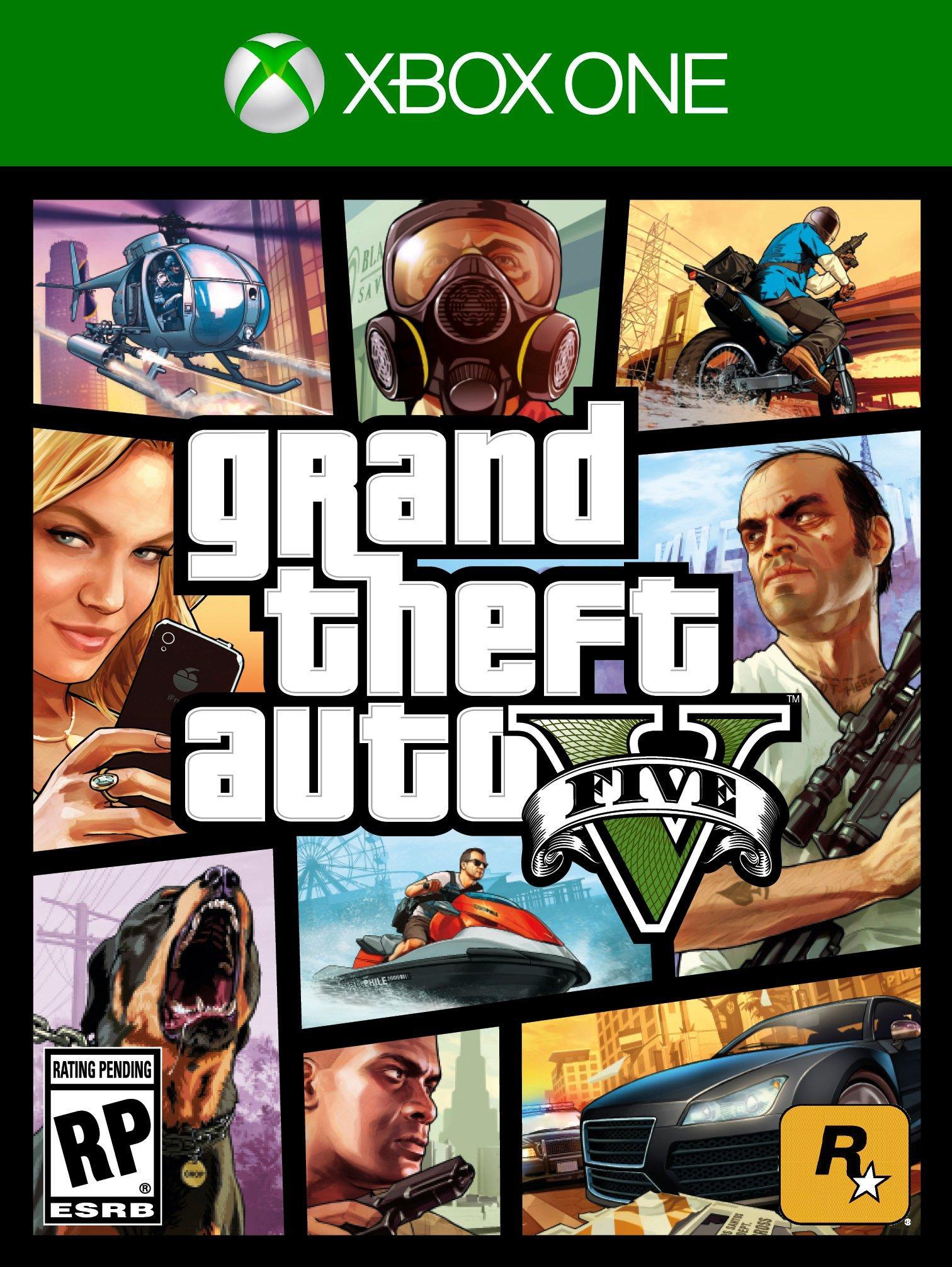 Grand Theft Auto V Xbox One Gamestop