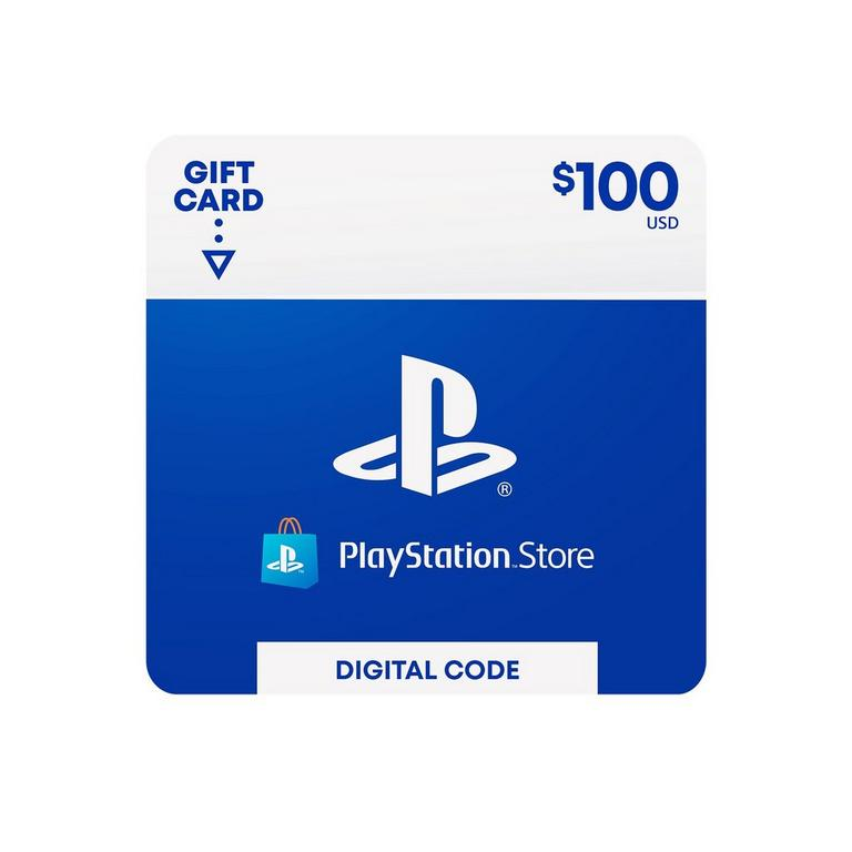 Sony Computer Entertainment Digital PlayStation Store Gift Card $100 PS4 Download Now At GameStop.com!